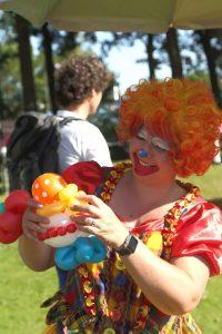 Ballonnenclown Samenloop voor Hoop Roermond