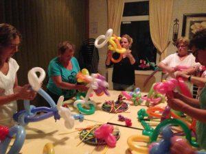 Workshop ballonvouwen Limburg