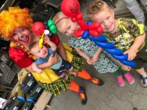 Clown Tallie - ballonnenclown Limburg